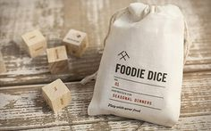Foodie Dice : le jeu de dés quand on ne sait pas quoi faire à manger
