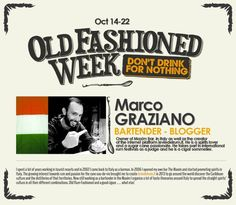 Old Fashioned Week arriva in Italia