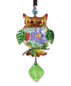 Look what I found on #zulily! Multicolor Owl Bouncy Ornament #zulilyfinds
