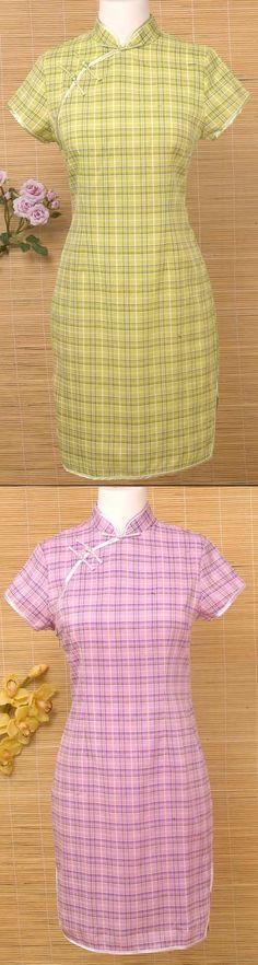 Cotton Mandarin Dress