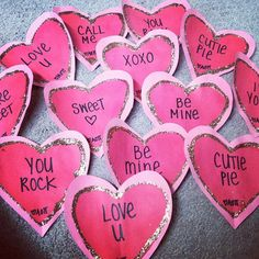 AOII Valentine's Day hearts
