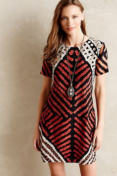 petra silk shift dress - 30% off today!! #anthrofave