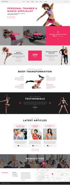 This Dance Trainer Joomla Template will impress you with a clean professional design and a set of functions that come included in the kit. You don't need to think more about developing a website by...