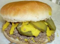 This is a very lean, tasty, juicy, loose meat sandwich filling. Made famous in the Mid American States.