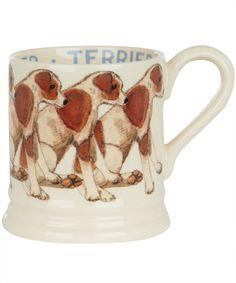 Terrier Half Pint Mug, Emma Bridgewater