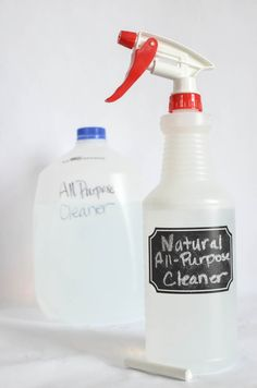 Stop buying those nasty chemicals to clean your home. This All Natural All-Purpose Household Cleaner is better for your family and lighter on your wallet!