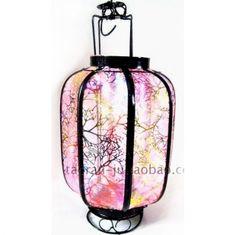 pink chinese lantern