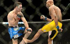 Anderson Silva sufre una lesión | FOTOS: Confira as melhores imagens do UFC 168 em Las Vegas - combate | sportv.com