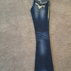 must have for summer only a crazy person wouldn't have these bad boys Rock Revival Jeans Boot Cut