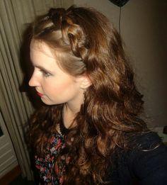 Dutch braided headband