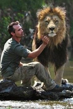 Kevin Richardson, animal behaviorist, works with some of the most dangerous animals known to man. He sleeps with lions, cuddles newborn hyenas and swims with lionesses. Rather than train the animals he persuades them. To do this he uses his own unusual methods. He uses love, understanding and trust; and has developed some very close bonds with these animals