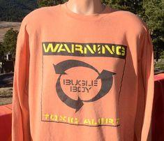 vintage 90s long sleeve t-shirt BUGLE BOY toxic skate surf
