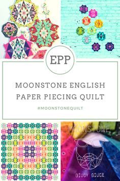 English Paper Piecing, the trend, resources and links to great inspiration. A technique that is a must try if you are a quilter!