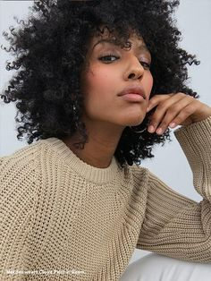 Gel-Cream Blush Duo: Cloud Paint Duo in Beam Curly Afro Hair, Curly Girl, Curly Hair Styles, Black Girls Hairstyles, Afro Hairstyles, Pretty Hairstyles, Natural Hair Tips, Natural Hair Styles, Natural Beauty