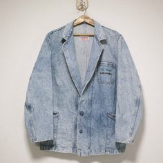 ROSSO OVERSIZED DENIM TAILORED JACKET Size: About XXL〜