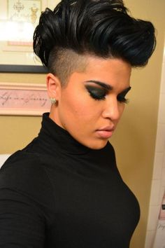 mohawk hairstyles for black women 2014