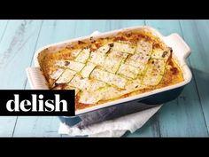 ... Italian Sausage, Tomato, and Basil Sauce | Zucchini Lasagna, Grilled