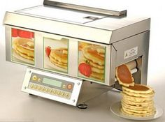 Pancake Maker Conveyor Belt for your Home Kitchen: A bargain at $3500. Totally pays for itself after only 18,000 batches of pancakes.