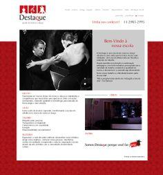 Site Destaque Música e Dança