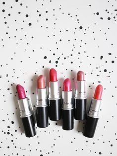My MAC Lipstick Edit.