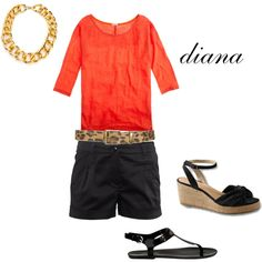 spring/summer 2012, created by dcdc on Polyvore.  Created by my sister :-)