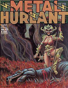 Metal Hurlant # 10 - 1976
