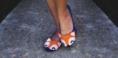 Fox Shoes DIY
