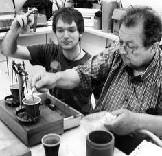 Valter Ferrian e io Preparazione dei chimici