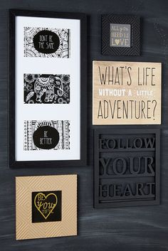 We are spoilt for choice with all the wall art to choose from-we want it all!