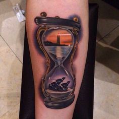15 Philosophical Hourglass Tattoos