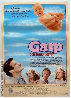 THE WORLD ACCORDING TO GARP foreign Movie poster, 1982