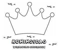 Koningsdag Werkboekje voor de onderbouw. Craft Activities For Kids, Crafts For Kids, Applique, Kings Day, Holland, Coloring Pages, Preschool, Classroom, Clip Art