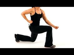 How to Do a Lunge   Thighs Workout - YouTube
