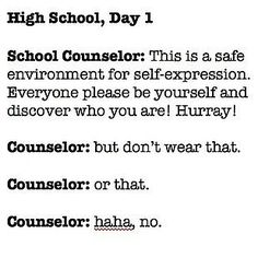 When the dress code was all kinds of ridiculous… | 14 Times No One Told You High School Was Actually A Trap