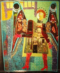Art With a Needle: International Quilt Festival - Pamela Allen, A Very Stingy Tooth Fairy