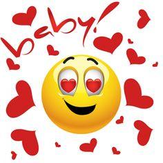 caritas enamoradas animadas con corazon