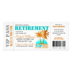 Pilot  Retirement Party Invitation  Retirement