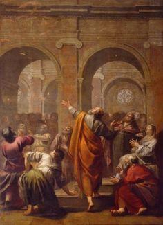 Jacques Blanchard (1600-1638), La Pentecôte 1634, Notre Dame de Paris