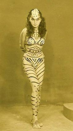 Body Paint! -Old photo
