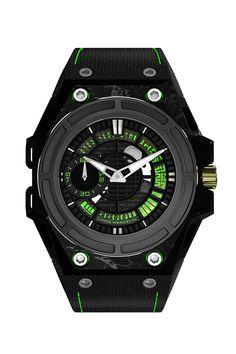 """The small but thriving UK-based, Danish-owned Linde Werdelin has gone colour crazy, introducing several variations on its Spidolite and Oktopus watches. Watch of the collectionWe like the Spidolite II Tech Green due to its combination of vivid, lime green detailing and the super light and highly technical skeletonised case made from a combination of """"Alloy Linde Werdelin"""" and carbon. Just 75 pieces will be made. £10,800. lindewerdelin.com"""