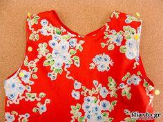 Ανοιξιάτικο παιδικό φόρεμα - ftiaxto.gr