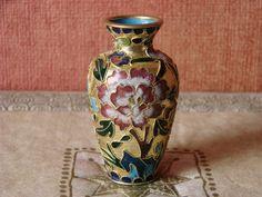 CLOISONNE-PIĘKNY WAZON-EMALIA KOMÓRKOWA- Vase, Home Decor, Decoration Home, Room Decor, Vases, Home Interior Design, Home Decoration, Interior Design, Jars