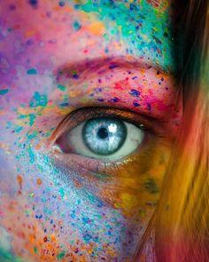 Moonlight Photography, Love Photography, Portrait Photography, Typography Portrait, Glow Paint, Rainbow Eyes, Spiritual Love, Photos Tumblr, Profile Photo