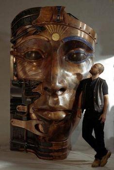 Metal Sculpture by Pierre Matter