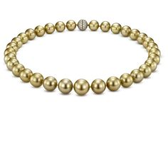 Golden Pearls!  Available at Houston Jewelry!  http://www.Houstonjewelry.com
