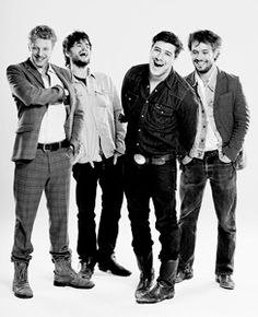 Mumford and Sons. Can you tell Im in love with these guys?
