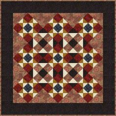 FREE pattern: Ohio Star Wall Hanging (from About.com)