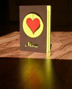 Handmade birthday card for Mum by Charlottejvogel, via Flickr