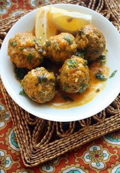 This recipe for Moroccan Meatball Tagine with Herb and Lemon Sauce is one of the most popular on the blog! The meatballs could easily be frozen for a quick weeknight meal.