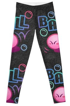 #kirby #ball #leggings #gaming